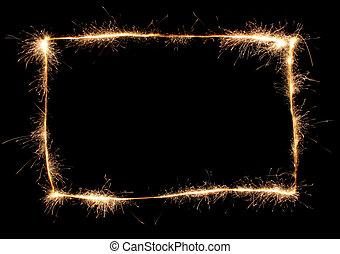 sparkler frame