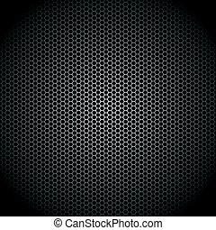 Vector illustration of a speaker grille