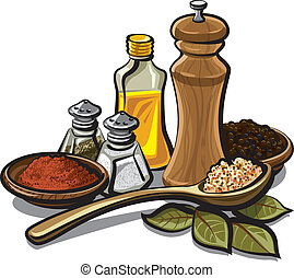 spices and flavoring