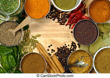 Image of spices - spice is nice.