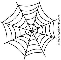 spider web art theme vector art graphic