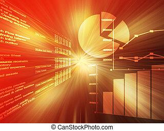 Spreadsheet data red