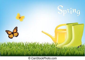 Spring Banner