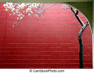 Spring in a city - japanese style
