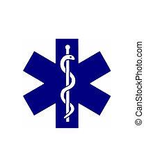 Illustration of the medical symbol