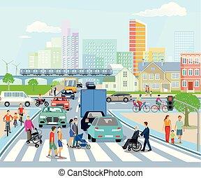 Stadt-Transport