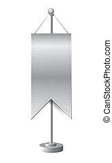 stand banner template illustration design