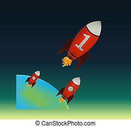Starting Red Rockets