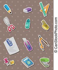 stationery stickers