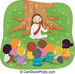 Stickman Kids Jesus Bible Storytelling