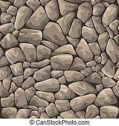 Seamless rock stone background for design and decorate