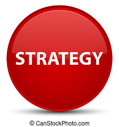 Strategy special red round button