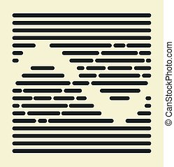 Striped infinity