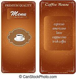 stylish menu template