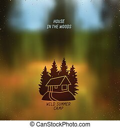 small house in the woods