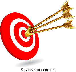 Three arrows on target for success