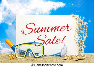 Summer sale message board