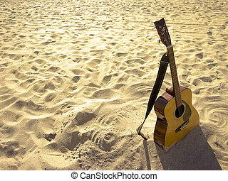 Sunny Beach Acoustic Guitar