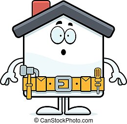 Surprised Cartoon Home Improvement