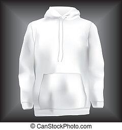 Sweatshirt or hoodie, jacke template
