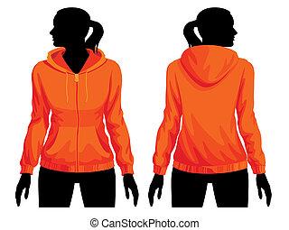 Sweatshirt template