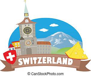 Switzerland. Tourism and travel