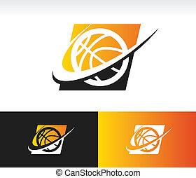 Swoosh Basketball Icon