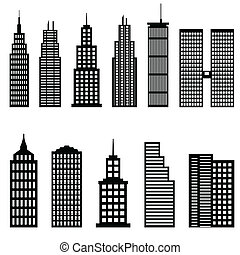 Tall buildings and skyscrapers architecture