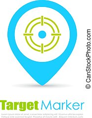 Target pin logo