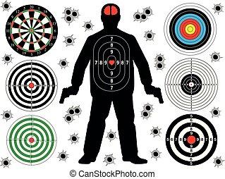 Target shoot set
