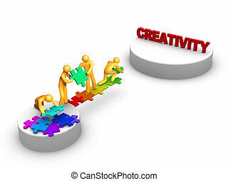 Team work for Creativity