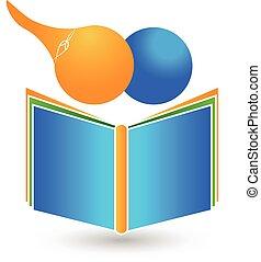 Teamwork children book logo