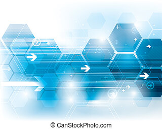 abstract background technology in vector illustration created