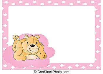 Teddy bear for babygirl