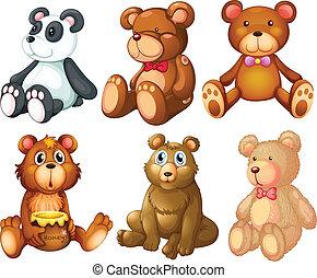 Illustration of stuffed animal