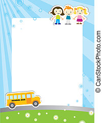 Template background school poster