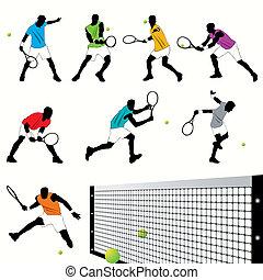 Tennis Players set