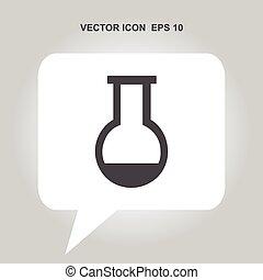 test-tube vector icon