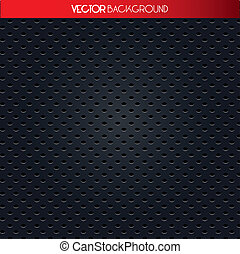Texture of holes, black and gray pattern, vector illustration