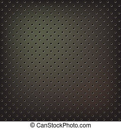 Texture of dark metallic mesh