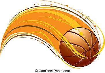 basketball pattern