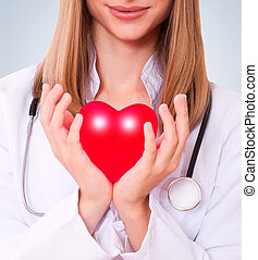 Health insurance or love concept.
