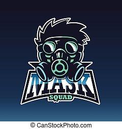 The mask, Vector e sport logo
