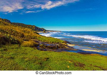 The picturesque coast
