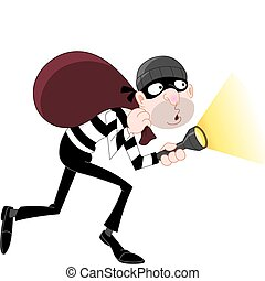 Sneaking thief