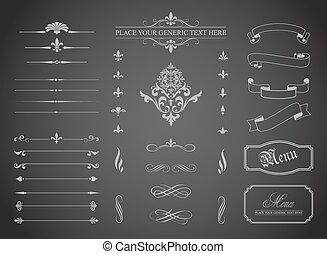 Vintage Decorative Ornament Borders