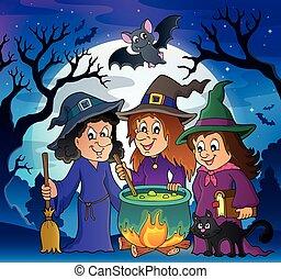Three witches theme