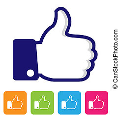 thumbs up like symbol for your design