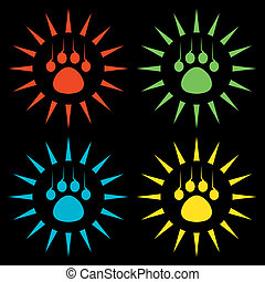 tiger paw signs