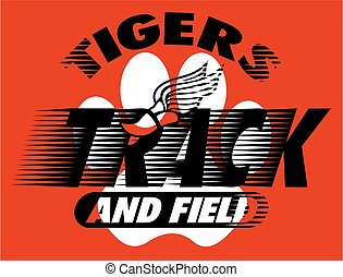 tigers track and field